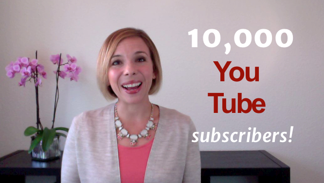 Free Pronunciation Training to Celebrate 10,000 Subscribers